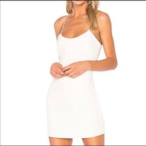 White Mini NBD Dress
